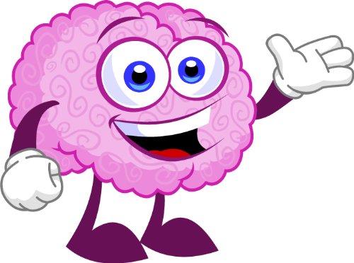 Art - Cute Brain Masco...