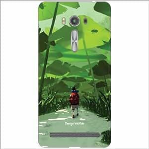 Design Worlds - Asus ZenFone 2 Laser ZE500KL Designer Back Cover Case - Mul...