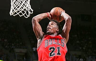 "Jimmy Butler Chicago Bulls 2015 NBA Playoff Action Photo (Size: 8"" x 10"") by NBA [並行輸入品]"