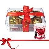 Savory Treasure Of Wrapped Truffles With Love Mug - Chocholik Luxury Chocolates