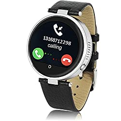 Indigi Heart Rate Monitor Water-Resistant Bluetooth Smart Watch For iOS Android Phones