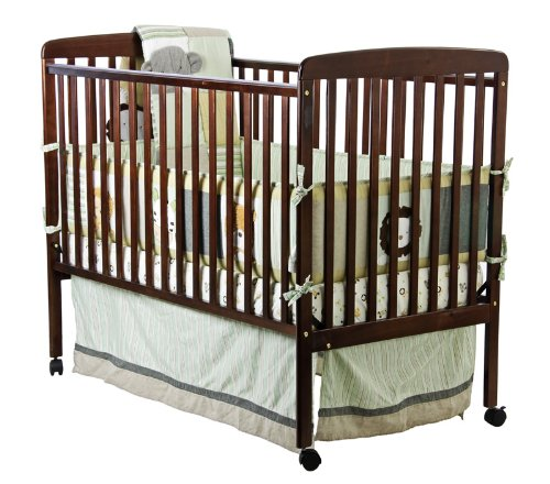 Dream On Me 2 in 1 Full Size Crib and Changing Table Combo, Espresso