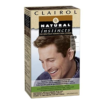Best Cheap Deal for Clairol Natural Instincts for Men Hair Color, Light Brown (M9) from Clairol - Free 2 Day Shipping Available