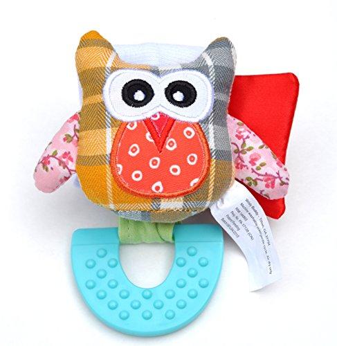 Wristy Buddy Teething Wristband, Owl