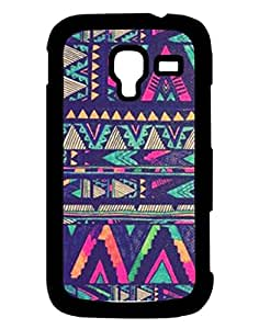 Mobile Cover Shop Glossy Finish Mobile Back Cover Case for Samsung Ace 2