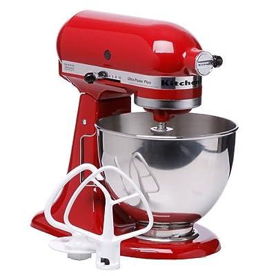 KitchenAid KSM100PSER/KSM100PSER0 Empire Red UltraPower Plus Stand Mixer by KitchenAid