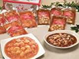 鉄人陳建一の極上四川 麻婆豆腐とエビチリ8食セット