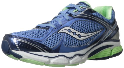Saucony Women's Echelon 3 Running Shoe,Blue/Navy/Green,6.5 M US