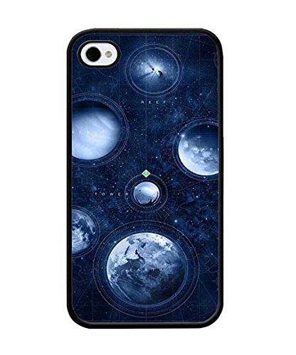 Iphone 4 4s Custodia Case, Individual Classic Ultra Fit Destiny Vintage Trendy for Guys for Boys