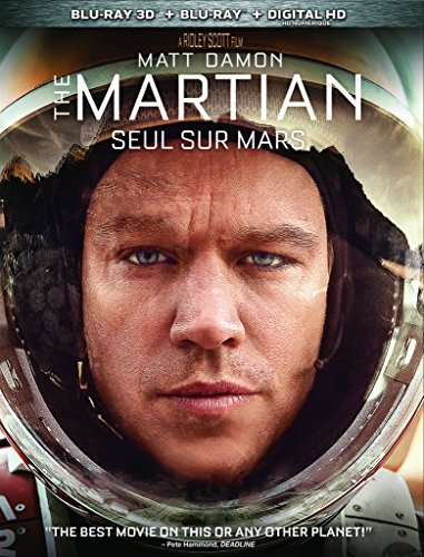The Martian [Blu-ray 3D+ Digital Copy] (Bilingual)