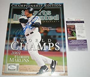 Ivan Rodriguez Signed Autograph World Series Sports Illustrated Magazine *JSA COA* by Sports Illustrated