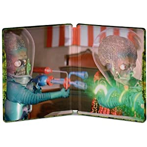 Mars Attacks! Steelbook édition limitée - Blu-Ray