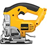 DEWALT DC330B Bare-Tool 18-Volt Cordless Jig Saw with Keyless Blade Change, Tool Only, No Battery