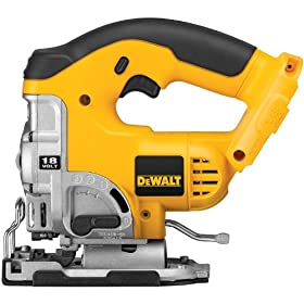 Bare-Tool DEWALT DC330B  18-Volt Cordless Jig Saw with Keyless Blade Change (Tool Only, No Battery)