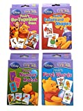 Winnie the Pooh Early Learning Flashcard Set of 4 Packs