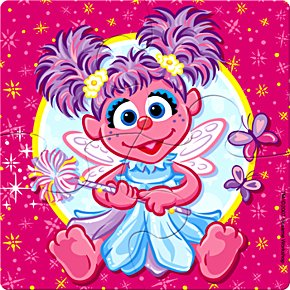 Abby Cadabby Foam Puzzles, 4ct - 1