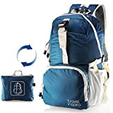 Travel Inspira Lightweight Packable Backpack Hiking Daypack Handy Foldable Camping Outdoor School Cycling 25 Liters
