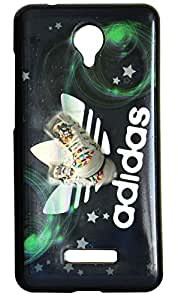 Vcare Shoppe Silicon Printed Back case cover for Micromax Canvas Spark Q380