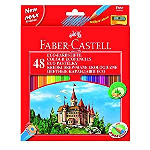 faber castell 120148 eco farbstifte 48er kartonetui. Black Bedroom Furniture Sets. Home Design Ideas