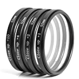 52mm Close up Lens +1+2+4+10 Macro Filter Set for Nikon D800 D700 D600 D300S D300 D7100 D7000 D5200 D5100 D5000 D3200 D3100 D3000 D90 LF57
