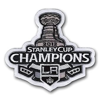 Los Angeles Kings Logo Patch - 2012 Stanley Cup Champions Los Angeles