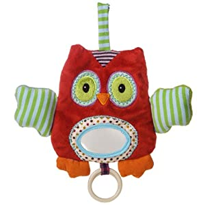 Natural Life Baby Mary Meyer Activity Toy, Whooo Loves You Owl