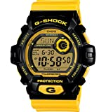 G-Shock G-8900 Crazy Color Trending Series Mens Luxury Watch - Glossy Yellow / One Size