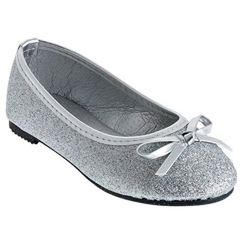 Unbekannt, Ballerine bambine, (#527 Silber), 24