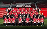 MANCHESTER UNITED FC TEAM PHOTO SQUAD 14/15 - Imported Football Wall Poster Print - 30CM X 43CM Brand New MAN UTD F.C