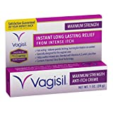 Vagisil Anti-Itch Creme, Maximum Strength, 1-Ounce (Pack of 4) - Packaging May Vary