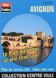 echange, troc Plans Blay Foldex - Plan de centre-ville : Avignon (avec un index)