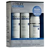 Bosley Revive Starter Pack for Visibly Thinning / Non Color-Treated Hair 3pc