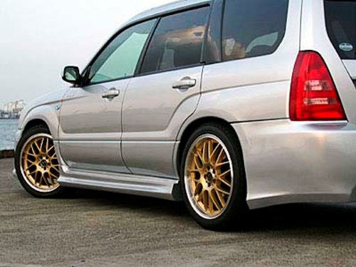 2003-2005 Subaru Forester SF - Liberal Side Skirts