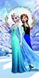 Disney Beach Towel Frozen Anna & Elsa Frozen Love Bath Towel 100% Cotton