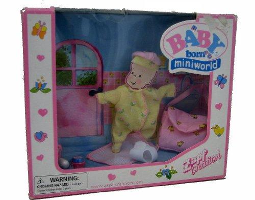 Baby Born Miniworld Diaper Changing Set front-677404