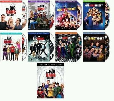 Big Bang Theory - Complete Collection, DVD (Series Seasons 1-9, 1,2,3,4,5,6,7,8,9 Bundle) USA Format Region 1 (Big Bang Theory Dvd Season 1 compare prices)