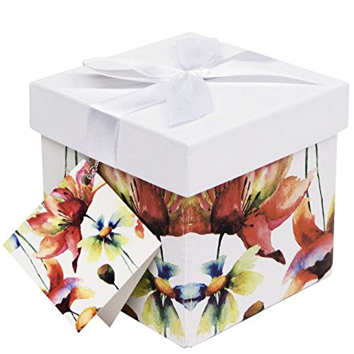 Endless Art US Sonia EZ Gift Box. Easy to Assemble and No Glue Required. (4x4)