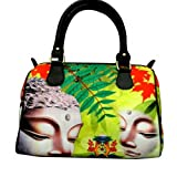 Watercolour Colourful Buddha Handbag