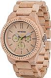 Amazon.co.jp[ウィウッド]WEWOOD 腕時計 ウッド/木製 マルチファンクション KAPPA BEIGE 9818027 メンズ 【正規輸入品】