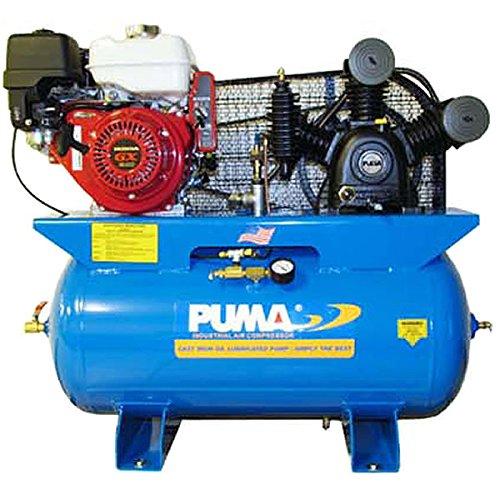 Puma Air Compressors TE-8030HGE Honda GX Engine, Electric Starter, 8 hp, 30 gal Tank (Gas Air Compressor 30 Gallon compare prices)