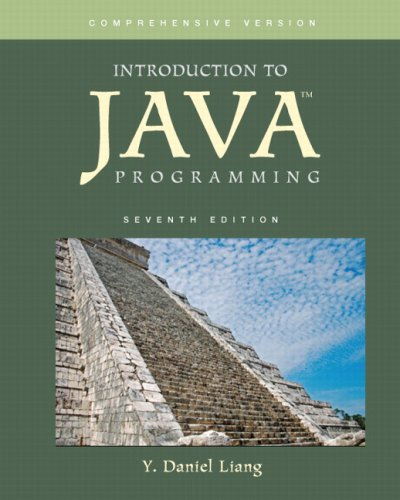 Introduction to Java Programming, Comprehensive Version...