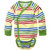 POLARN O. PYRET Signature Stripe Wrap Bodysuit