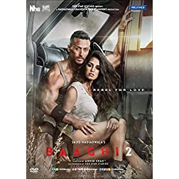 Baaghi 2 Hindi DVD - Original Bollywood Latest 2018 Action Film - Tiger Shroff