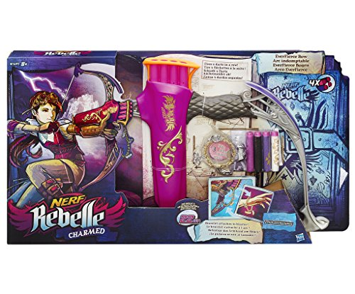 Nerf Rebelle Charmed Everfierce Bow (Nerf Bow With Target compare prices)