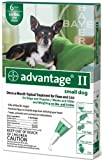 Advantage II for Dogs 6 Month Supply 1-10lb