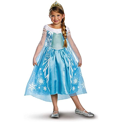 Frozen Elsa Deluxe Toddler Costume - 3T-4T