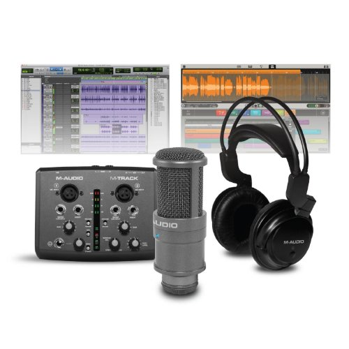 M-Audio Vocal Studio Pro Complete Vocal Studio Package Featuring Pro Tools Express