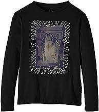 Billabong Down The Line T-Shirt à manches longues Garçon Noir FR : 14 ans (Taille Fabricant : 14)