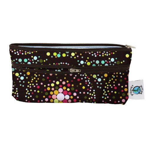 Planet Wise Travel Wet/Dry Diaper Bag, Outer Space