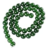 """AAA Natural Green Jasper Gemstone Loose Round Beads 8mm Spacer Beads For Jewelry Making 15.5"""" (1 strand) 15GSL-8G"""
